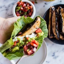 30 Minute Harissa Portobello Mushroom Tacos