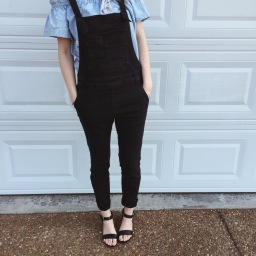 Styling Overalls For Fall