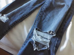 Distressed Jeans: A How To