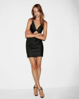https://www.express.com/clothing/women/metallic-cut-out-mini-sheath-dress/pro/07920517/color/PITCH%20BLACK