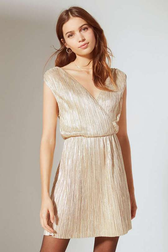 https://www.urbanoutfitters.com/shop/oh-my-love-shimmer-pleated-fit-flare-dress?category=dresses-on-sale&color=070